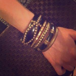 Jewelry - Key of Life studded bangle